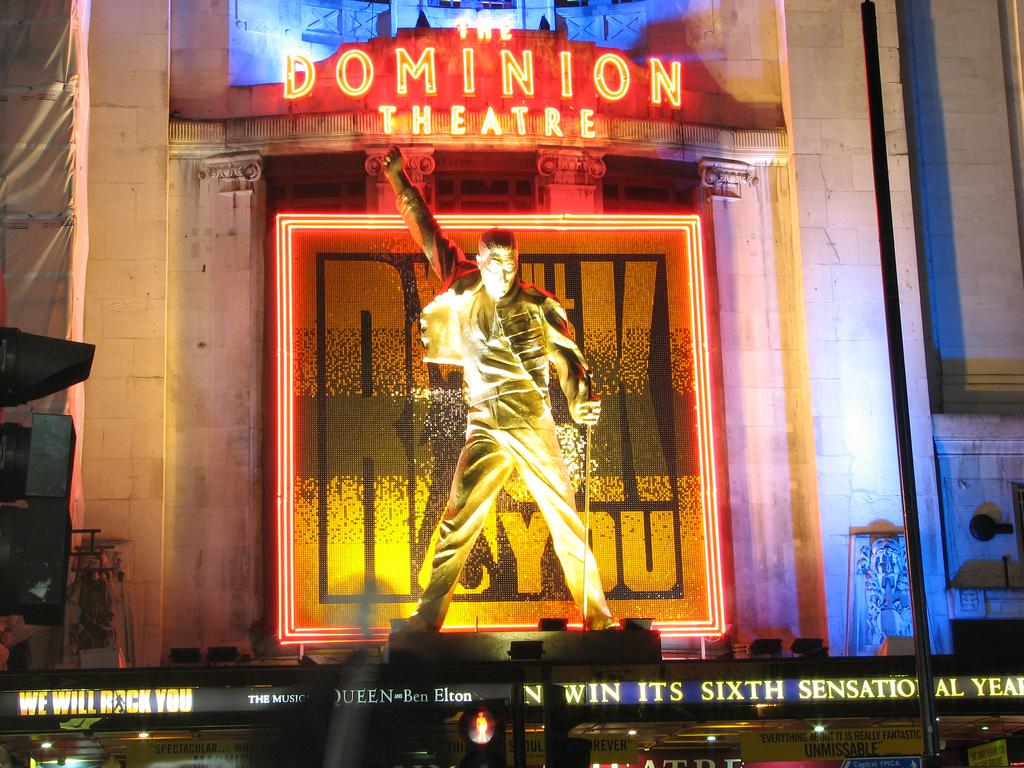 Dominion Theatre London Restaurants